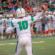 Badin High quarterback Zach Switzer (10) lets a pass loose against Edgewood last season. AJ FULLAM/6SPhoto.com